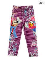 Велюровые лосины Disney для девочки. 104 см