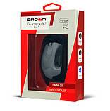 USB мышь Crown CMM-20 Черная 1000/1600 DPI, фото 2