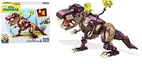 Конструктор Mega Bloks Minions Dino Ride Building Kit.