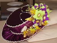 Конфетные букеты шляпа