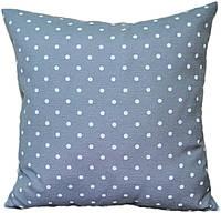 Декоративная подушка  Горох (серый)