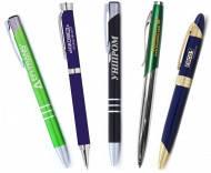 Ручки металлические под нанесение логотипа