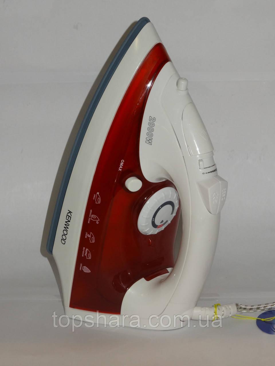 Утюг Kenwood K2866 2000вт. белый с красным