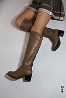 Демисезонные сапожки женские модель 442