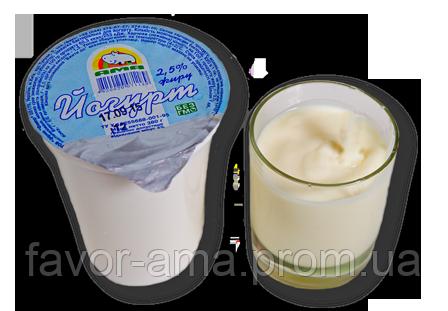 Йогурт без наполнителей АМА 2,5%, фото 2