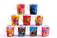 Пластиковая чашка с 3D рисунком, 250 мл, К540