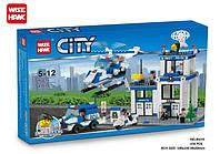 Конструктор Wise Hawk серия City 85015 Полицейский участок