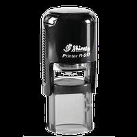 Оснастка автоматическая, пластиковая для круглой печати d 17mm