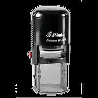 Оснастка автоматическая, пластиковая для круглой печати d 24mm