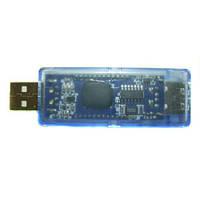 USB тестер тока напряжения потребляемой энергии KEWEISI Blue