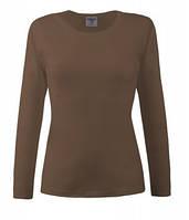 Женская футболка с длинным рукавом 205-ГЛ
