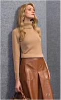 Блузка женская, кофточка гольф водолазка свитер ZAPS CARI