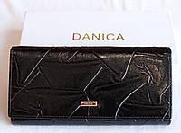 Кошелек женский кожаный Danica черный