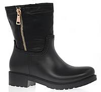 Женские резиновые ботинки (утепленные)