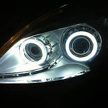 110 мм led-кольца в фару (ангельские глазки) суперяркие 1шт., фото 3