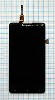 Модуль (дисплей + сенсор) Lenovo S898 black original