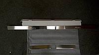 Накладки на пороги Daewoo Matiz 1997- 4шт. Standart