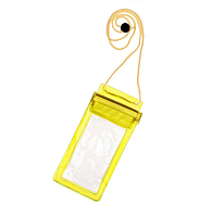 Прозрачный водонепроницаемый чехол для телефона, желтый
