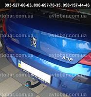 Фаркоп на Peugeot 308 (с 2007--) Пежо 308