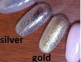 Однофазный гель D.I.S Nails Silver (серебро)  30 гр., фото 4