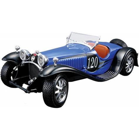 Сборная модель «Bburago» (18-25035) Bugatti Type 55 1932, 1:24 (синий), фото 2