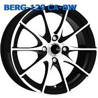 Литые диски Berg 129 W6.5 R15 PCD4x100 ET40 DIA73.1 CA-BW
