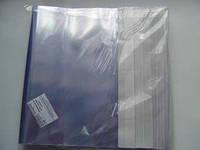 Обкладинка Полімер 230002 для зошитів А4 формату 100шт з липкою стрічкою ПП (100/1000)