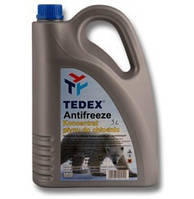 Антифриз G11 Tedex Antifreeze -37 ºC /цвет синий/ цена (5 л)