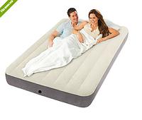 Матрас-кровать надувной велюровый Intex 64708