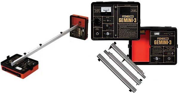 Металлоискатель Fisher Gemini 3