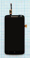 Модуль (дисплей + сенсор) Lenovo S820 black original