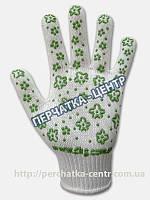 Перчатки женские ЗЕЛЕНЫЙ ЦВЕТОК 620