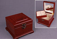 "Шкатулка для украшений ""Куб"" 15х15х10 см."