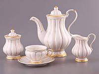 """Чайный сервиз на 6 персон, 15 предметов, """"Барокко"""""""