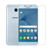 Защитная пленка Nillkin Crystal для Samsung A810 Galaxy A8 (2016) Анти-отпечатки