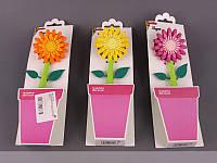 """Щетка для посуды 28 см. """"Flower power geranium"""" в ассортименте Vigar"""
