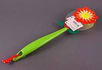 """Щетка для спины 36 см. """"Flower power geranium"""" Vigar"""