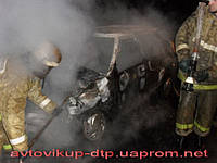 Выкуп авто после пожара по Украине