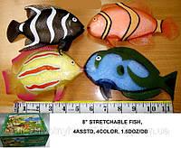 Рыба силиконовая тянучка