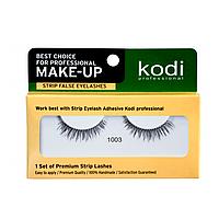 Наращивание бровей и ресниц Kodi Ресницы накладные ленточные Kodi 1003