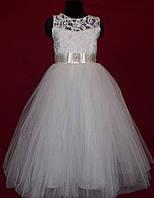 Платье нарядное для девочки 6-10 лет