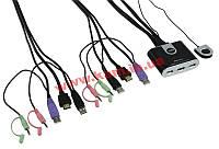 2-портовий USB HDMI mini KVM-переключатель, (CS692)