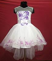 Платье нарядное для девочки от 5 до 9 лет