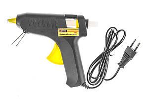 Пистолет клеевой электрический, 11 мм, 65 Вт. Для склеивания керамики, бумаги, картона, дерева и металла.