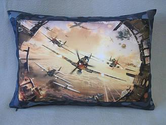 Подушка с фото World of Warplanes - Мир самолетов
