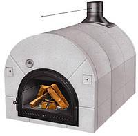 Chef 102 - Печь для пиццы на дровах. Пиццы: 3 шт, Piazzetta Италия
