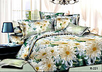Двуспальный набор постельного белья Ранфорс №242