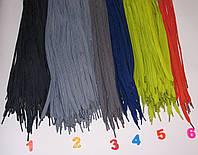 Шнурки синтетические 100см плоские, фото 1