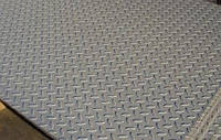 Лист рифленый алюминиевый 5,0*1250*2500 mm АМГ3 от ГОСТ МЕТАЛ