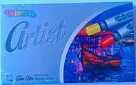 Пастель масляная Для художников Artist 12 цв. 65702PTR Colorino Польша